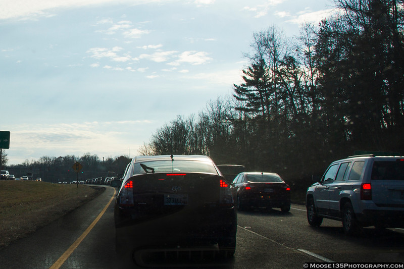 December 1 - Heading back to Charlotte after Thanksgiving week on Long Island.  The only snags on the ride were the delays in Virginia, where the intricacies of traffic lights have not been mastered by all...
