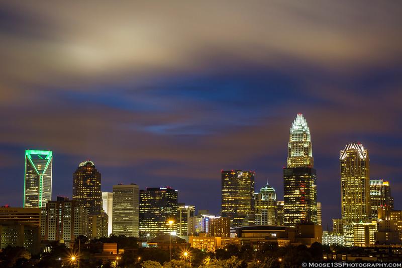July 1 - Charlotte skyline
