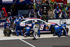 June 9 - Dale Earnhardt, Jr. comes to the attention of his pit crew during the Pocono 400.