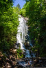 June 22 - Mingo Falls, outside the south entrance to Great Smoky Mountains National Park.