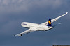September 28 - Lufthansa A340 winging its way to Germany.