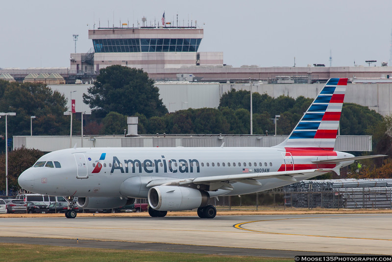 November 16 - Another US Airways jet in a new suit of clothes.
