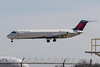 January 23 - The end of the line - final US airline flight of a DC-9 brings this Delta bird into Charlotte to be displayed at the Carolinas Aviation Museum.