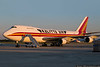 September 30 - Kalitta Air 747 freighter at CLT, waiting to take supplies to Africa to fight the Ebola outbreak.