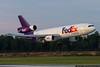 July 17 - FedEx DC-10 arrives in Charlotte.