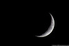 October 27 - A sliver of a Crescent Moon.
