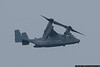 May 23 - V-22 Osprey performs in poor conditions at Jones Beach.