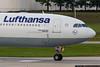 July 22 - Lufthansa A340 departing.