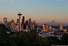 September 7 - Sunset in Seattle.