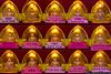 June 1 - Prayer candles at the Chuang Yen Monastery.