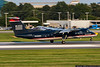 August 4 - Dash 8 touching down in Charlotte.