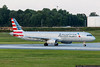 July 16 - One of US Airways new A321s, delivered in American Airlines colors.