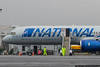 March 14 - National Cargo 757 preparing to leave CLT on a NASCAR team charter to Phoenix.