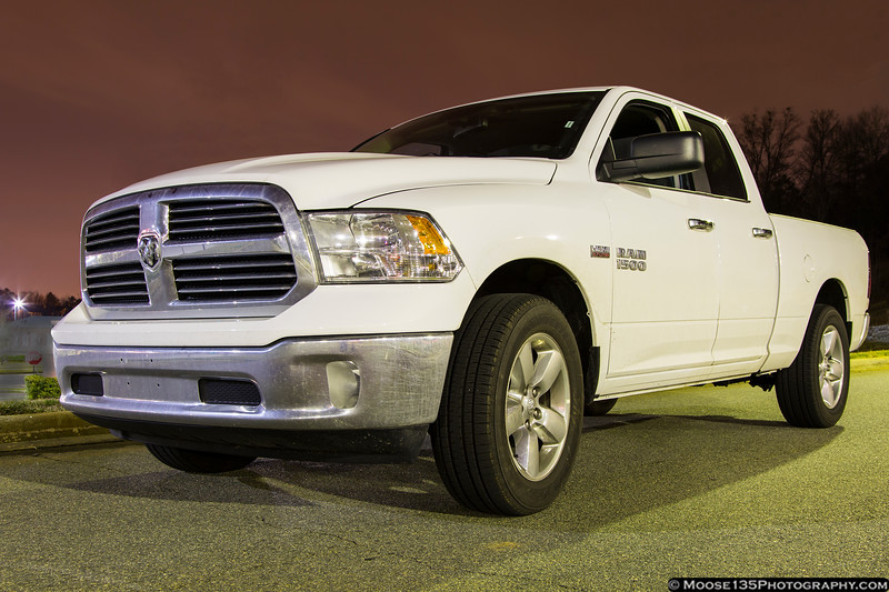March 9 - Insurance covers a rental while the Durango gets repaired.  They said I'm entitled to a full size car, but Enterprise didn't have one available, so they upgraded me to a Dodge Ram.  Can you say Hemi?