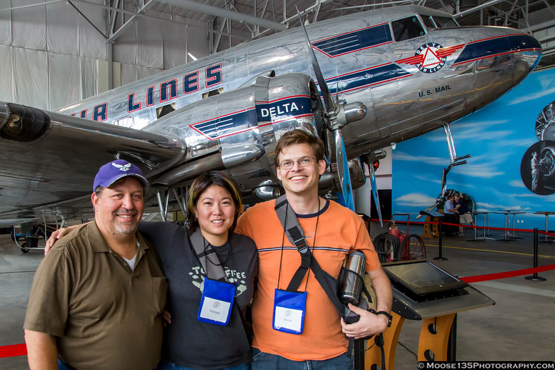 June 20 - Spent a wonderful day at the Airliners International show with a couple of good friends I hadn't seen in much too long.