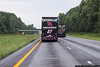 July 12 - NASCAR souvenir haulers returning from Kentucky Speedway.