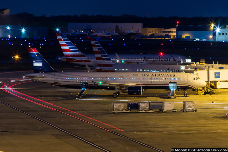 March 17 - Day or night, the ramp is a busy place!