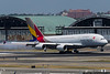 May 30 - Whale Watching: Catching the new Asiana Airlines A380 service to JFK.
