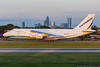 September 8 - We had a Russian Beast visit Charlotte today. Antonov An-124 flew in to pick up turbine equipment from Siemens.
