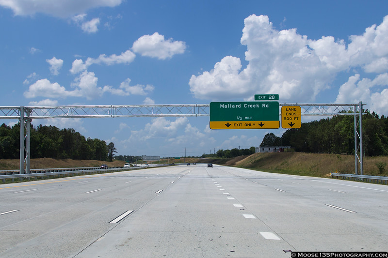 June 14 - The final section of I-485 opened a week ago - it still has that new highway smell!
