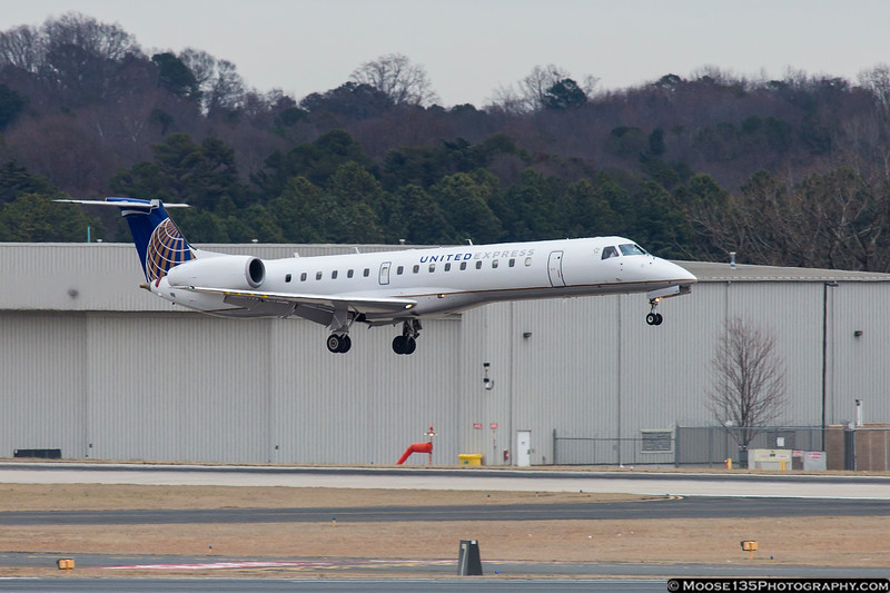February 1 - Catching a friend landing at CLT.