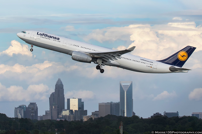 May 10 - Lufthansa A330 departs for Munich.