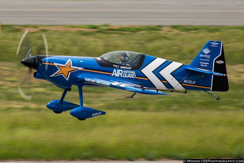 May 24 - John Klatt returns to Republic Airport after performing at the Jones Beach Air Show.