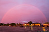 July 25 - After a thunderstorm rolled in off Long Island Sound, we were treated to a rainbow over Bayville.