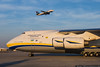 March 8 - A giant Antonov An-124 stopped in to Charlotte.