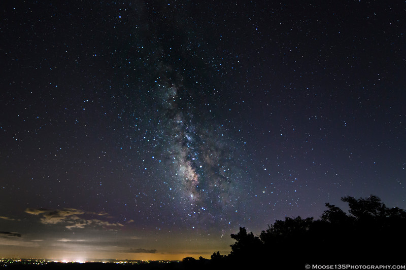 September 24 - Spotting the Milky Way  from the Blue Ridge Parkway.