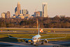 February 5 - American Airlines 757 arrives in Charlotte.