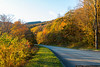 October 22 - Some fall color on the Blue Ridge Parkway.