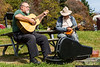 October 21 - We were treated to an impromptu concert on the Blue Ridge Parkway on Saturday.