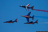April 8 - Making their first US visit since 1986, the French Air Force Patrouille de France performed at the Maxwell AFB Open House
