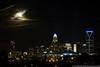December 3 - Super Moon rise over Charlotte.