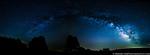 June 24 - Milky Way panorama over the Blue Ridge Parkway
