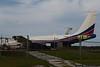 January 26 - A well-worn 707 parked at Brunswick, Georgia