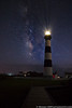 September 22 - At last, the shot I've wanted for a while, the Bodie Island Lighthouse with the Milky Way.