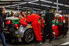 January 28 - Scrambling to solve an electrical issue during the Rolex 24 at Daytona.