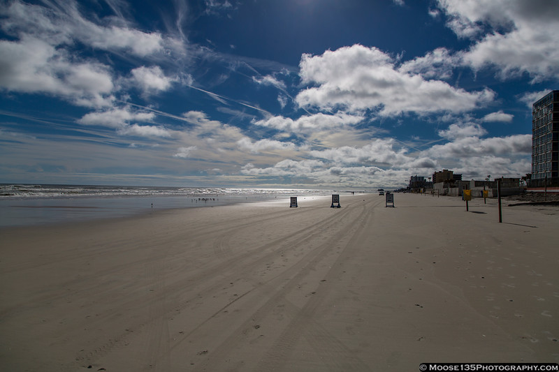 January 29 - I think you are required by law to drive on the beach when you visit Daytona Beach!