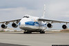 March 8 - Giant Antonov An-124 arrives in Charlotte.