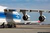 January 14 - Antonov An-124 on the ramp at CLT.
