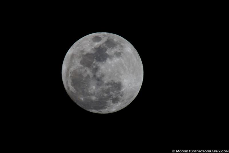 January 30 - Blue Super Moon rise