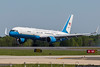 April 20 - Air Force 2 arrived in Charlotte.