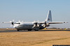 January 4 - With a major winter storm churning up the East Coast, we have had some interesting diversions into CLT, like this privately owned C-130/L-100.