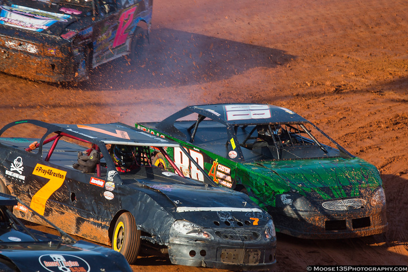 June 15 - Some tight competition at the East Lincoln Speedway!