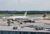 June 23 - Two diversions stopped at CLT, the QATAR A350 and AeroLogic 777.