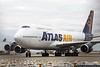October 5 - A Giant comes to town - Atlas Air 747 carrying the Jacksonville Jaguars to Charlotte to play the Panthers.