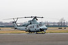 December 13 - USMC UH-1Y makes a quick stop at Republic Airport.