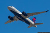 January 22 - Delta brought their new Airbus A220, formerly known as the Bombardier CS100, to CLT on a proving run.